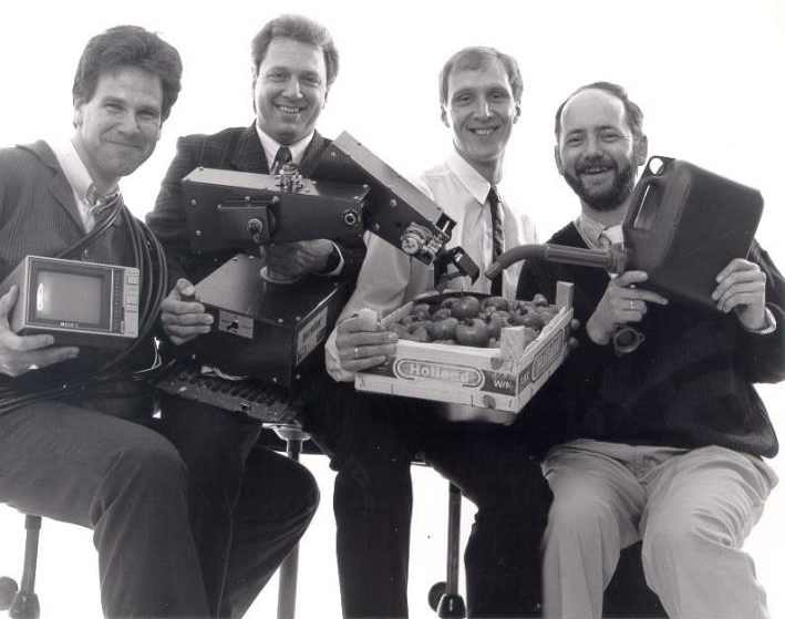 The 4 founders of TNL/Technolution in 1987